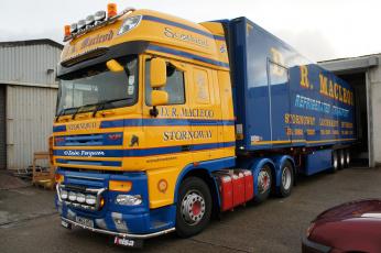 Картинка daf автомобили trucks nv нидерланды автобусы седельные тягачи шасси