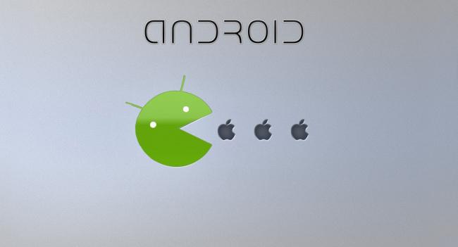Обои картинки фото компьютеры, android, фон, логотип