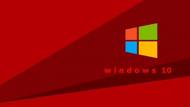 Обои картинки фото компьютеры, windows  10, логотип, фон