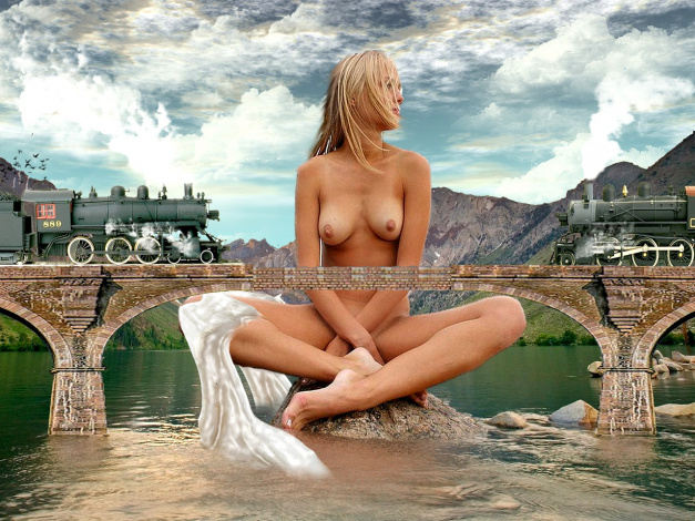 женщины гиганты голые фото