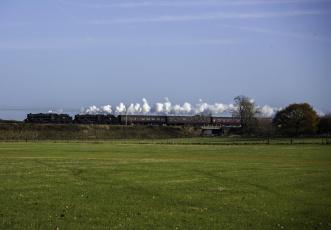 Картинка техника паровозы локомотив рельсы поезда