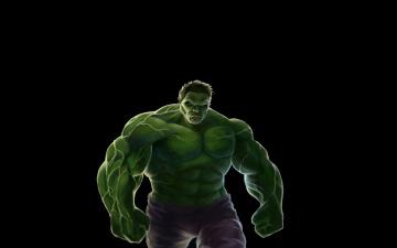 Картинка халк рисованные комиксы темный фон комикс marvel hulk