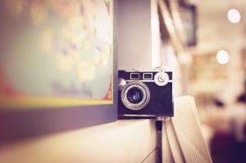 обоя бренды, бренды фотоаппаратов , разное, коробка, полка, фотоаппарат, камера