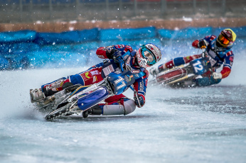 обоя спорт, мотоспорт, bike, race, ice, speedway, sport