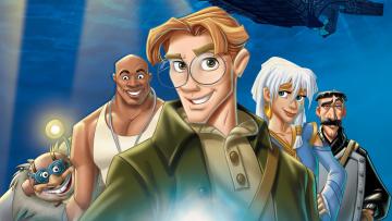 обоя atlantis,  the lost empire, мультфильмы, персонажи