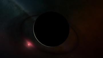 обоя космос, арт, планета, звезды, галактика, вселенная