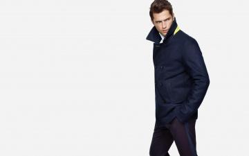 обоя мужчины, sean opry, штаны, модель, парень, пальто