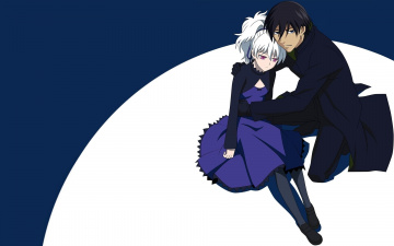Картинка аниме darker+than+black инь хей