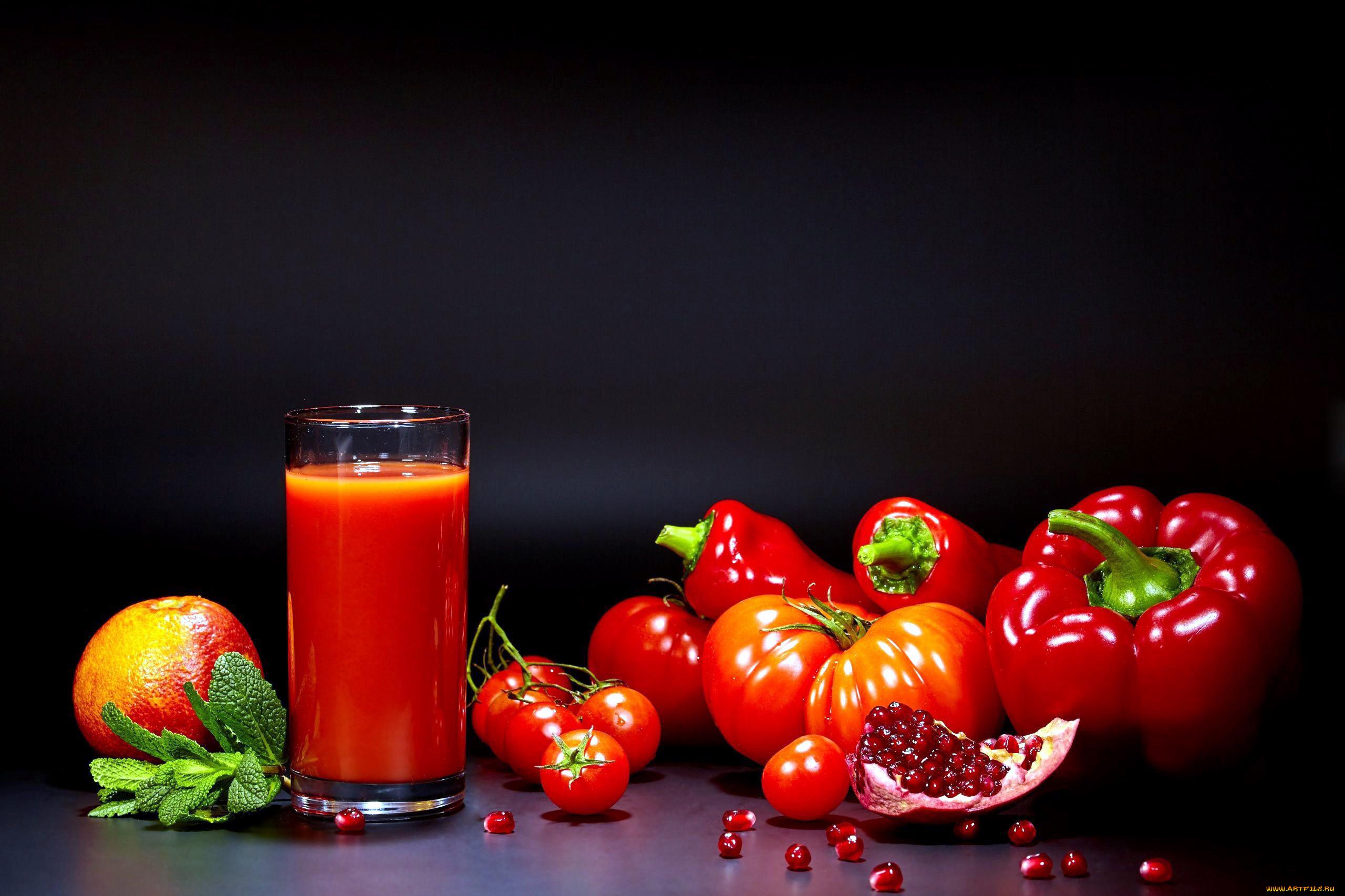 еда помидоры сок томатный ложка  № 2891533 без смс