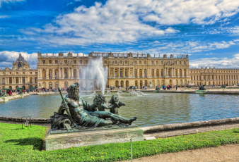 обоя versailles, города, париж , франция, дворец, парк