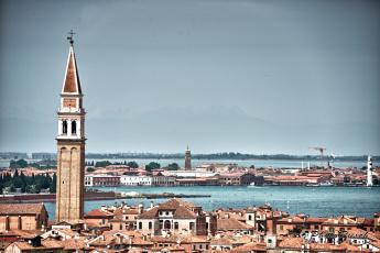 Картинка города венеция италия панорама