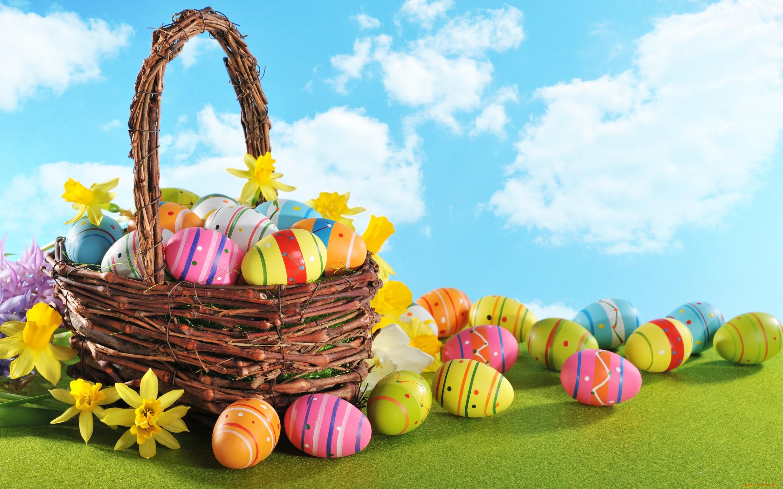 пасха яйца корзина  № 3922996 бесплатно