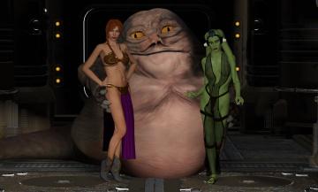 Картинка 3д+графика фантазия+ fantasy девушка взгляд фон халк