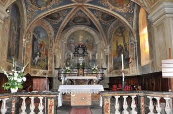 обоя интерьер, убранство,  роспись храма, костел