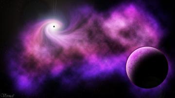 обоя космос, арт, вселенная, звезды, планеты, галактика