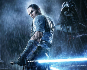 обоя star, wars, the, force, unleashed, видео, игры