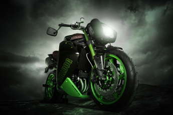 Картинка triumph speed triple мотоциклы motorcycles великобритания