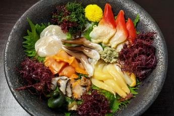 Картинка еда рыба +морепродукты +суши +роллы морепродукты