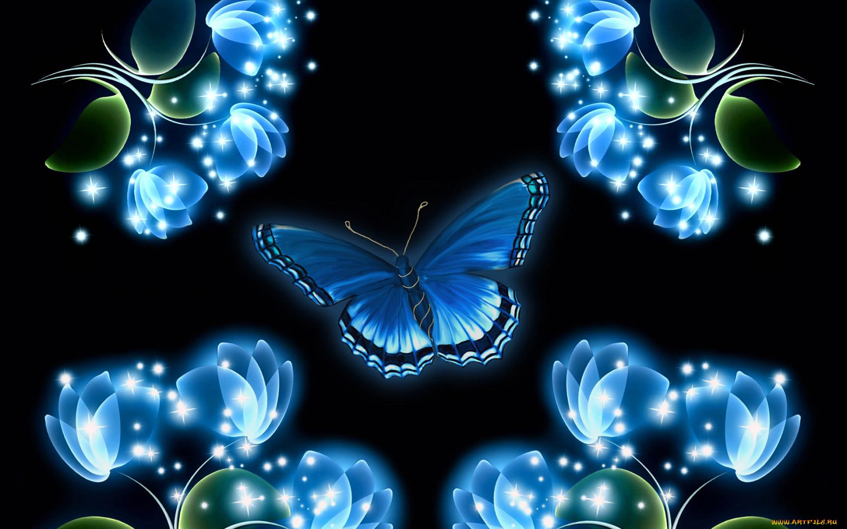 бабочка линии частицы скачать