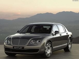 Картинка continental flying spur автомобили bentley