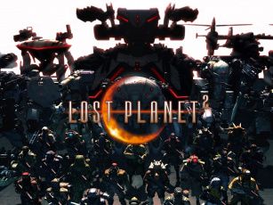 Картинка lost planet видео игры