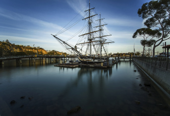 Картинка корабли парусники паруса мачты
