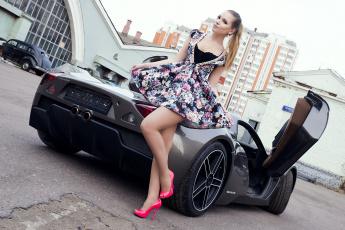 Картинка auto+girl+87 автомобили -авто+с+девушками girls moto