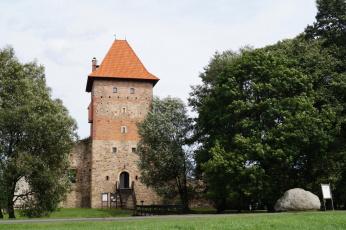обоя chudow castle, города, замки польши, chudow, castle