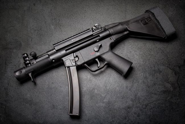 Обои картинки фото оружие, автоматы, пистолет-пулемет, hk, mp5k, автомат