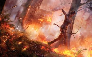 Картинка tomb raider lara croft reborn видео игры 2013