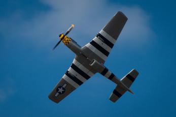 Картинка авиация лёгкие+одномоторные+самолёты крылья одноместный истребитель mustang p-51d