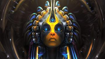 Картинка romeo+jonathan фэнтези существа фон девушка взгляд