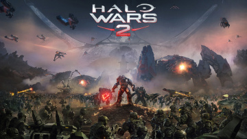 обоя halo wars 2, видео игры, - halo wars 2, action, стратегия, halo, wars, 2