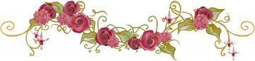 обоя векторная графика, цветы , flowers, фон, цветы