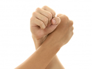 Картинка разное руки