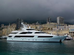 Картинка victoria+del+mar+ii корабли Яхты суперяхта море мальта