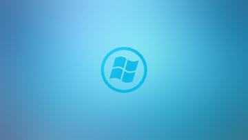 Картинка компьютеры windows+vista windows+longhorn логотип фон