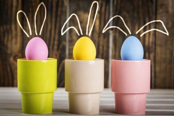 обоя праздничные, пасха, стаканы, яйцо