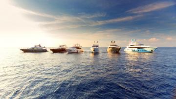 обоя корабли, Яхты, яхта, пейзаж, море