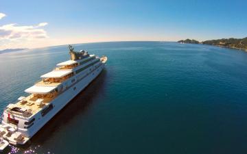 обоя корабли, Яхты, вода, море, океан, волны, корабль