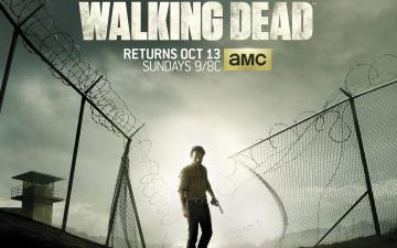 Картинка the walking dead кино фильмы забор
