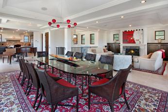 Картинка интерьер столовая мебель стиль дизайн