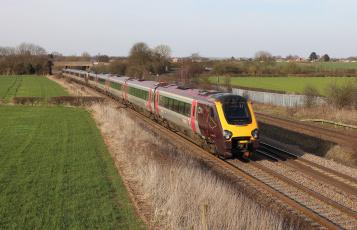 Картинка техника поезда состав локомотив дорога рельсы железная