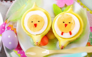 Картинка праздничные пасха decoration spring flowers happy eggs easter весна цветы яйца