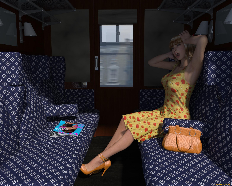 Секс две лесбиянки в поезде — pic 4