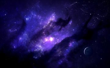 Картинка космос арт туманность