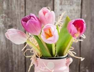 обоя цветы, тюльпаны, flowers, букет, tulips, romantic, pink, gift, love, fresh