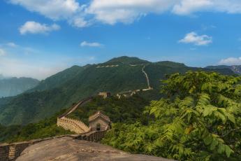 обоя great wall of china, города, - исторические,  архитектурные памятники, фортпост