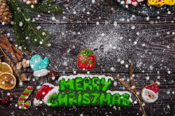 обоя праздничные, угощения, игрушки, печенье, праздник, новый, год, угощенье