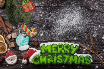 обоя праздничные, угощения, игрушки, праздник, новый, год, печенье, угощенье